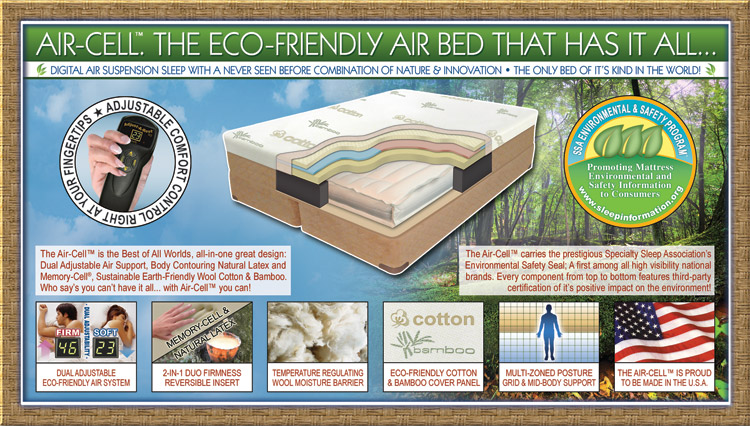 Air-Cell - Revolutionary Eco-Friendly Air System