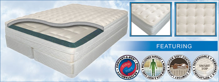 Luxury Pearl Ultra Pillow-Top - Air Mattress